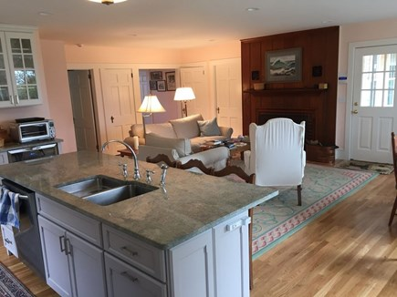 Hyannis Cape Cod vacation rental - View of living room from kitchen