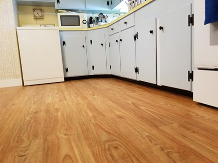 CHATHAM Cape Cod vacation rental - New Kitchen Floor to make cooking in the kitchen more pleasurable