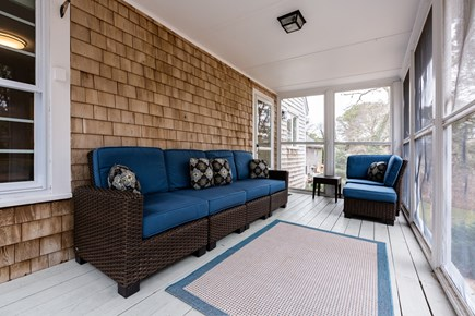 Chatham Cape Cod vacation rental - Screened porch with outdoor furniture