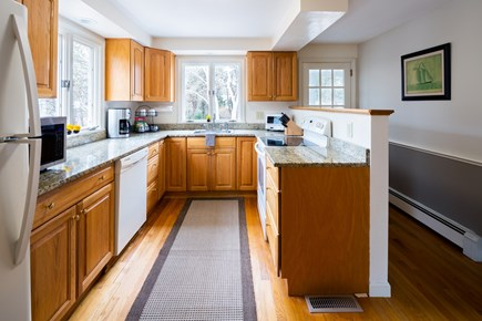 Chatham Cape Cod vacation rental - Well-equipped kitchen and access to screened porch