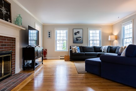 Chatham Cape Cod vacation rental - Hardwood floors, large flat screen smart TV with cable