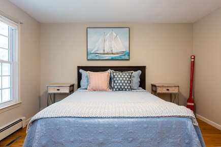 Chatham Cape Cod vacation rental - Main level queen bedroom - central AC on this level