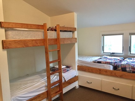 Orleans Cape Cod vacation rental - One of the bunk rooms with 5 twins