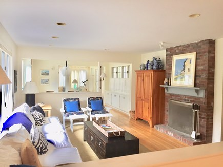 Orleans Cape Cod vacation rental - View from kitchen toward living space