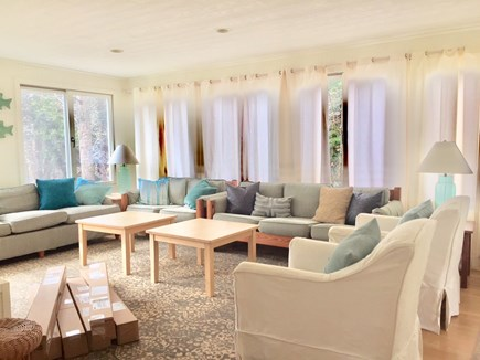 Orleans Cape Cod vacation rental - Lovely living area with TV and deck access