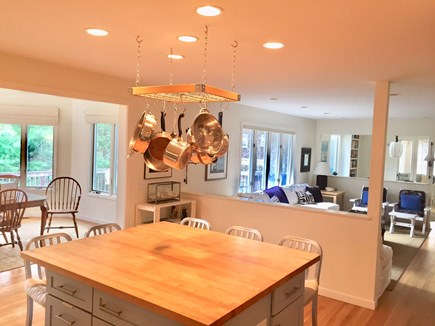 Orleans Cape Cod vacation rental - View from kitchen toward living areas and dining area