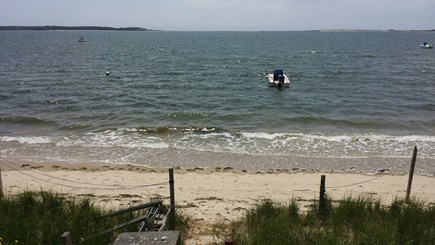 West Yarmouth Cape Cod vacation rental - Steps to your beach