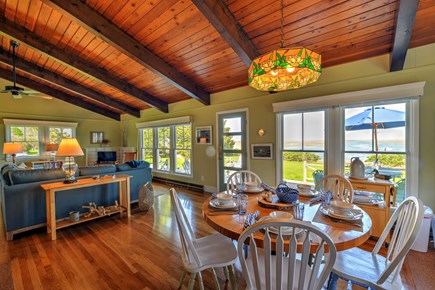 Sandwich Cape Cod vacation rental - Living/dining area
