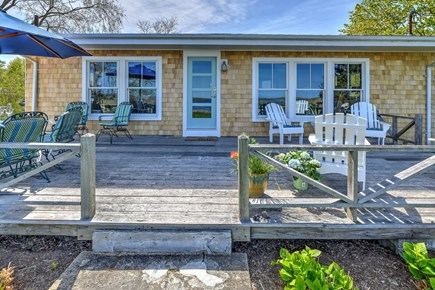 Sandwich Cape Cod vacation rental - Spacious deck