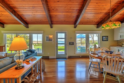 Sandwich Cape Cod vacation rental - View from Living area