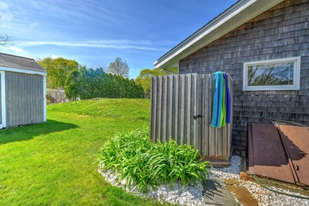 Sandwich Cape Cod vacation rental - Outdoor  shower