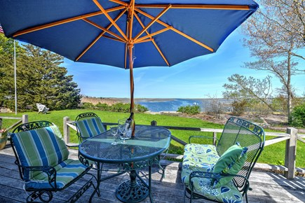 Sandwich Cape Cod vacation rental - Relaxing and serene deck views