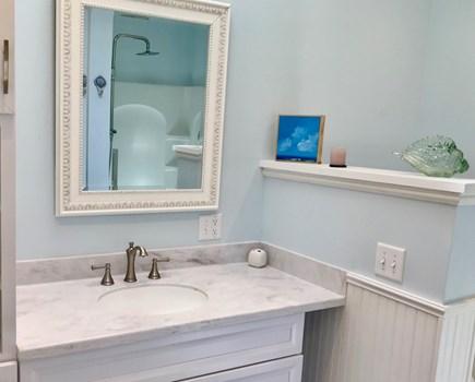 Eastham Cape Cod vacation rental - Master bath (w/shower)