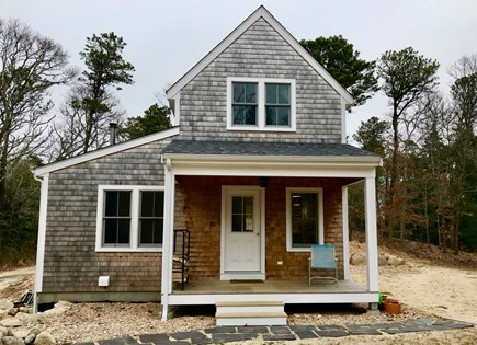 Orleans Cape Cod vacation rental - Front entrance & porch
