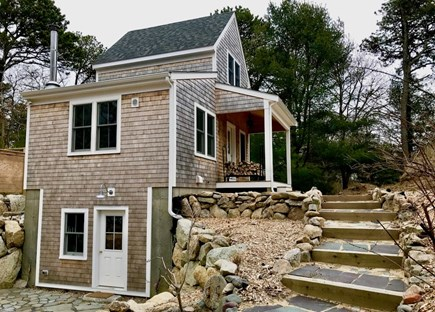 Orleans Cape Cod vacation rental - Steps up to main level (studio below)