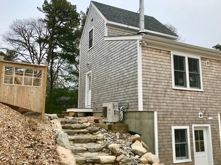Orleans Cape Cod vacation rental - Outdoor shower/Side entrance