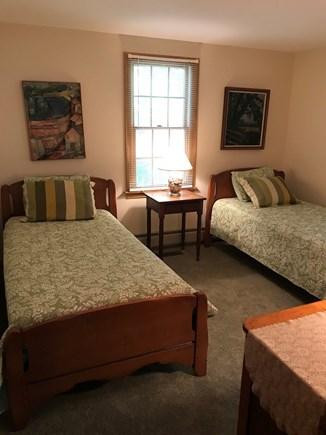 Wellfleet Cape Cod vacation rental - 1st Floor Bedroom 2 Twins