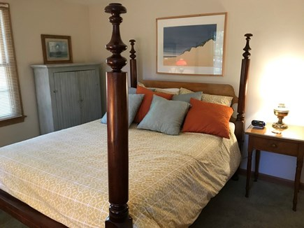 Wellfleet Cape Cod vacation rental - 1 st Floor Master Bedroom Queen Bed