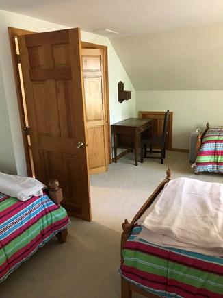 Wellfleet Cape Cod vacation rental - 2nd Floor Bedroom 3 Twin Beds