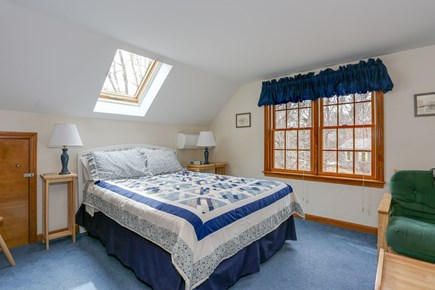 Eastham Cape Cod vacation rental - Second upstairs bedroom with skylight.