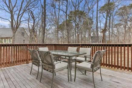 Eastham Cape Cod vacation rental - Enjoy the deck.