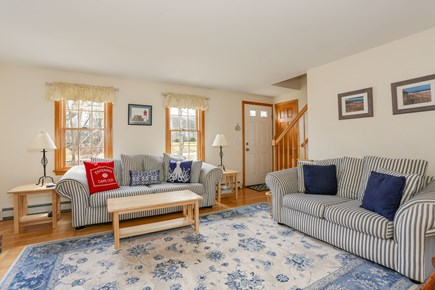 Eastham Cape Cod vacation rental - Spacious living room with natural light.