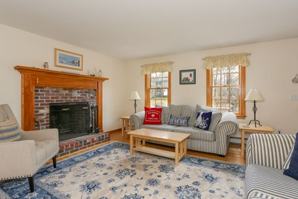 Eastham Cape Cod vacation rental - Another view of living room.