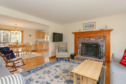 Eastham Cape Cod vacation rental - Open-concept living and dining.