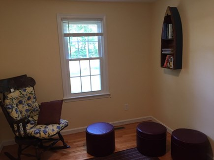 Hyannis Cape Cod vacation rental - Playroom with many books and board games included.
