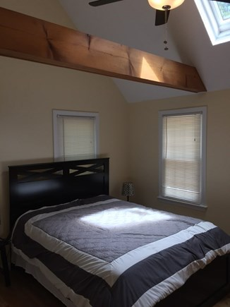 Hyannis Cape Cod vacation rental - Master bedroom with vaulted ceilings, full bathroom and queen bed