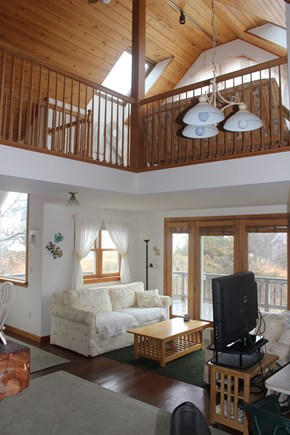Eastham Cape Cod vacation rental - Two story open floor plan