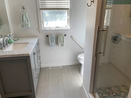Eastham Cape Cod vacation rental - New Downstairs Bathroom