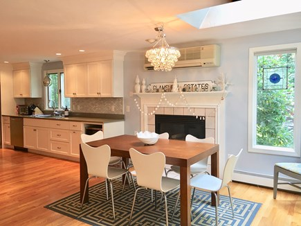 South Yarmouth Cape Cod vacation rental - Chef's kitchen with open dining area