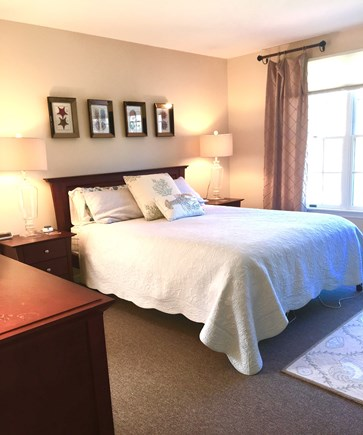 South Yarmouth Cape Cod vacation rental - First floor queen master bedroom