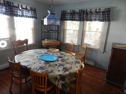 FALMOUTH Cape Cod vacation rental - Enjoy your meals out on the porch too!