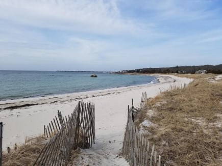 West Falmouth Cape Cod vacation rental - Short Walk to Your Private Association Oceanfront Beach