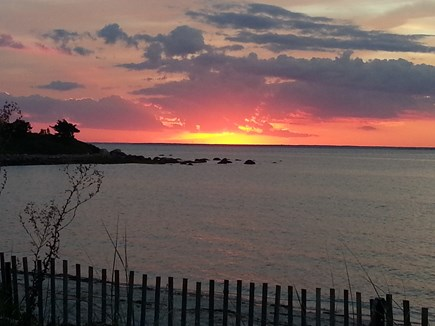 West Falmouth Cape Cod vacation rental - Spectacular Sunset at Your Little Island Beach