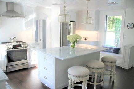 West Falmouth Cape Cod vacation rental - Remodeled Kitchen with New Appliances