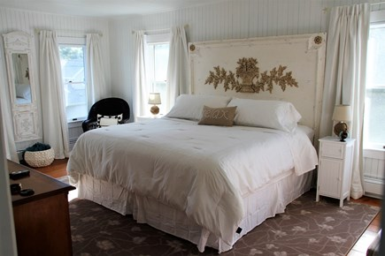 West Falmouth Cape Cod vacation rental - Nicely Decorated Master Bedroom w/ King Bed, Large Closet & TV