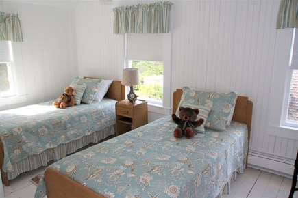 West Falmouth Cape Cod vacation rental - And Upstairs Twin Bedroom w/ Large Closet & Teddy Bears Waiting!