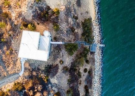 Wellfleet Cape Cod vacation rental - Aerial view