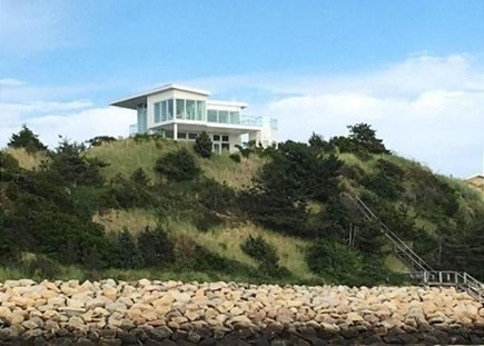 Wellfleet Cape Cod vacation rental - From the Private Beach