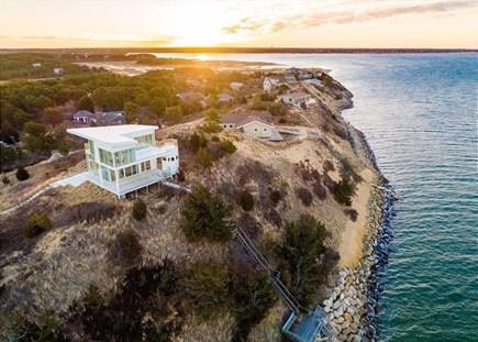 Wellfleet Cape Cod vacation rental - Perched up high