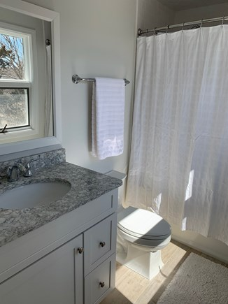 Barnstable Cape Cod vacation rental - Brand new second floor full bath with tub.