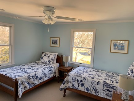 Barnstable Cape Cod vacation rental - Second floor bedroom with Twin beds; ideal for families.