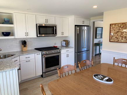 Barnstable Cape Cod vacation rental - Brand new eat-in kitchen for ease of meal preparation.