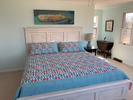 Barnstable Cape Cod vacation rental - Large master second floor bedroom with King bed.
