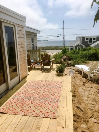 Wellfleet Cape Cod vacation rental - Enjoy evening drinks on your decks with views of Wellfleet Bay.