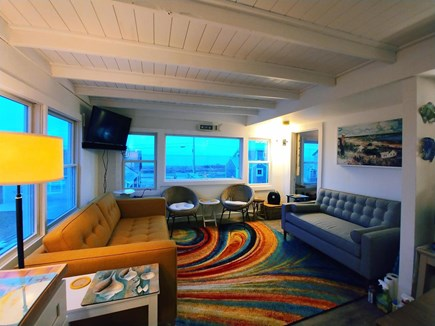 Wellfleet Cape Cod vacation rental - Famous Cape Cod Light makes Dunes Edge glow