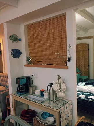 Wellfleet Cape Cod vacation rental - Coffee Station makes it easy to grab a cup w/o crowding kitchen
